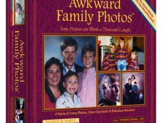 Awkward Family Photos Board Game