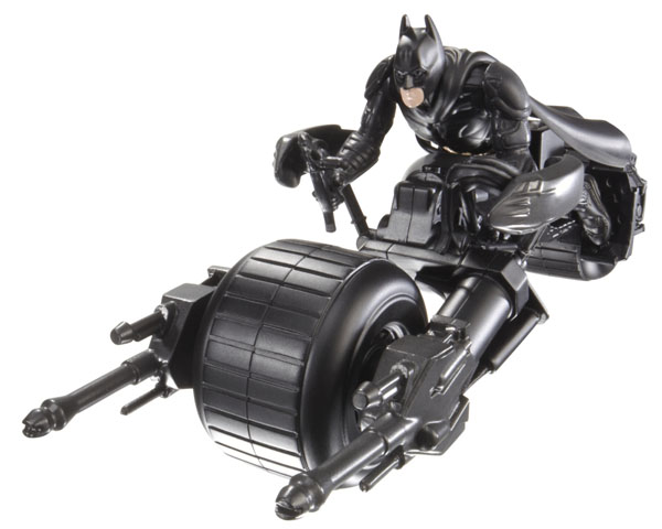 BATMAN THE DARK KNIGHT RISES QUICKTEK Attack Armor BAT-POD Vehicle