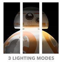 BB-8 Life-Size Aluminum LED Floor Lamp