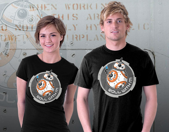 BB-8 Roll With It T-Shirt