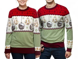 BB-8 Sleigh Bells Holiday Sweaters