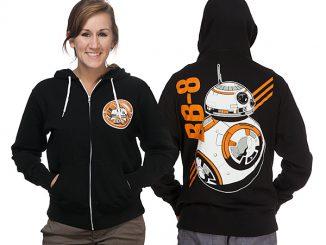 BB-8 Unisex Zip-Up Hoodie