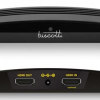BISCOTTI INTRODUCES WORLD'S FIRST HIGH-DEFINITION TV PHONE