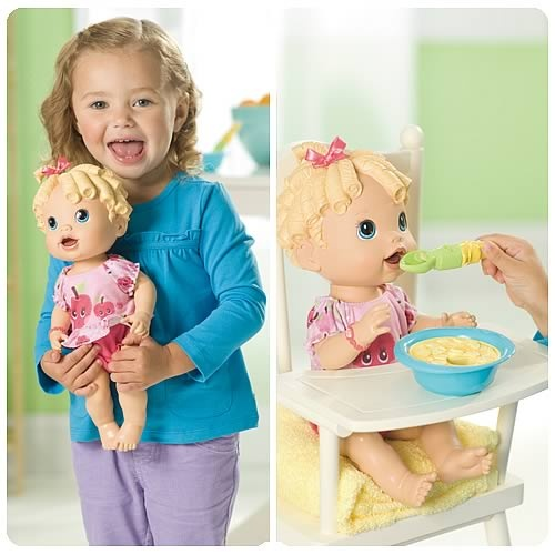 Baby Alive Care For Me Doll