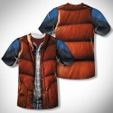 Back To The Future Marty McFly Vest Costume T-Shirt