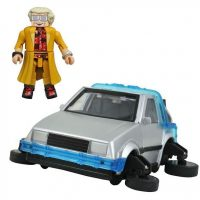 Back to the Future 30th Anniversary Hover Time Machine Minimates Vehicle
