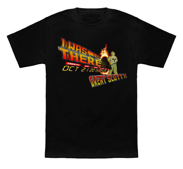 Back to the Future Day T-Shirt