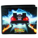 Back to the Future DeLorean Black Wallet