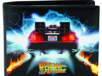 Back to the Future DeLorean Black Wallet
