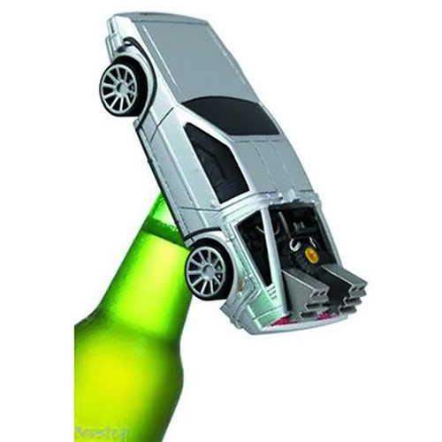 Back to the Future DeLorean Bottle Opener