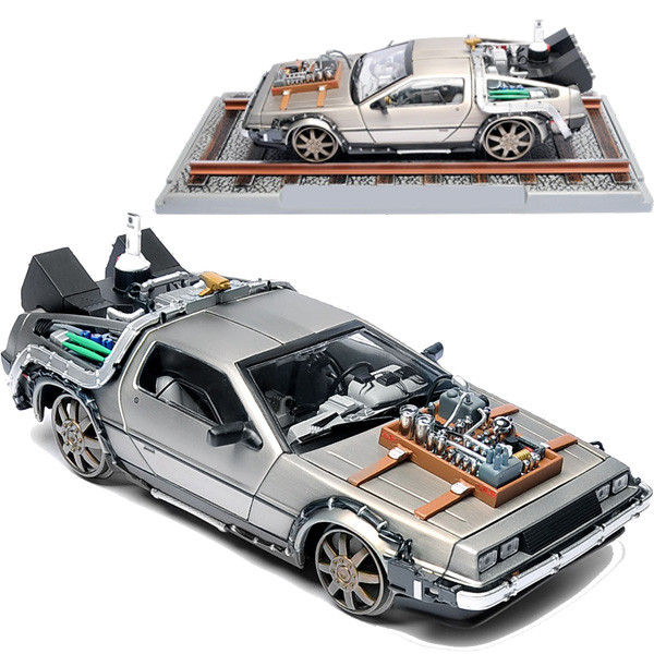 Back to the Future DeLorean External Hard Drive Train Wheel Edition