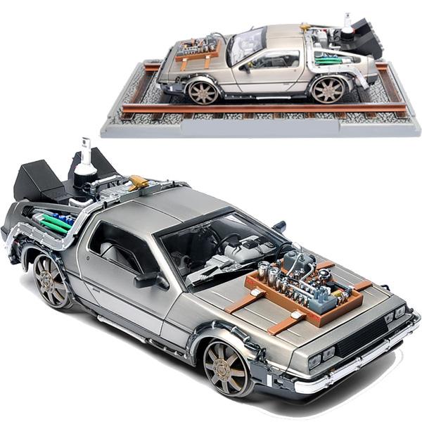 Back to the Future DeLorean External Hard Drive Train Wheel Edition