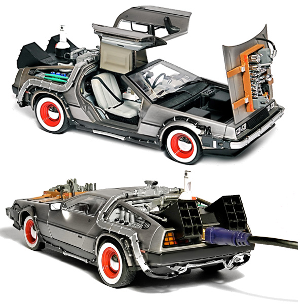 Back to the Future DeLorean External Hard Drive