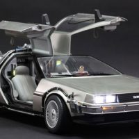 Back to the Future DeLorean Sixth-Scale Collectible Vehicle