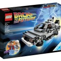 Back to the Future DeLorean Time-Machine Building Set