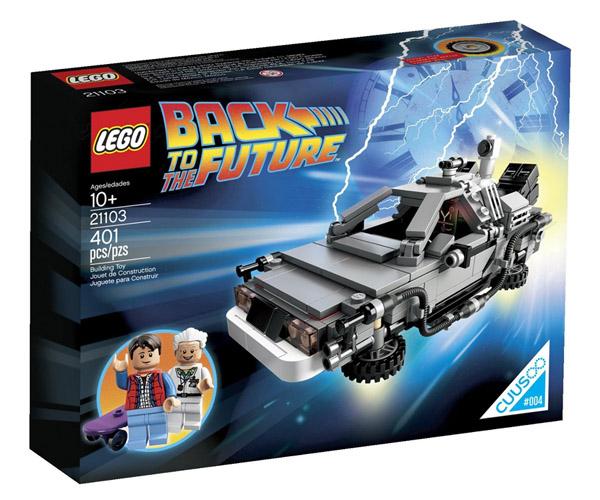 Back to the Future DeLorean Time-Machine Building Set