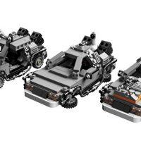 Back to the Future DeLorean Time-Machines