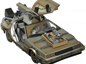Back to the Future III Rail Ready Time Machine Vehicle