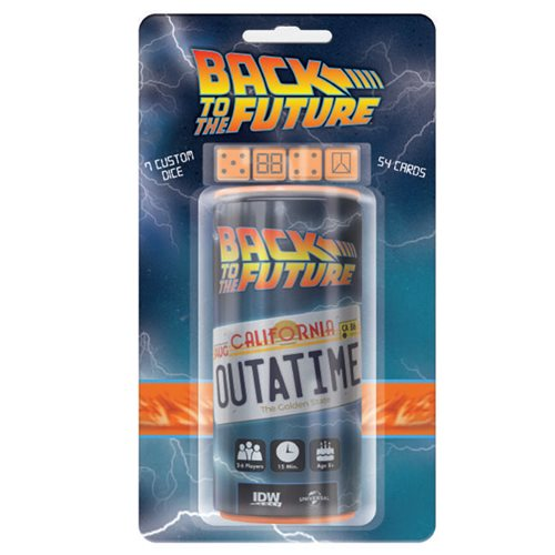 Back to the Future OUTATIME Dice Game