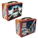 Back to the Future Outatime Retro Style Tin Tote Lunch Box