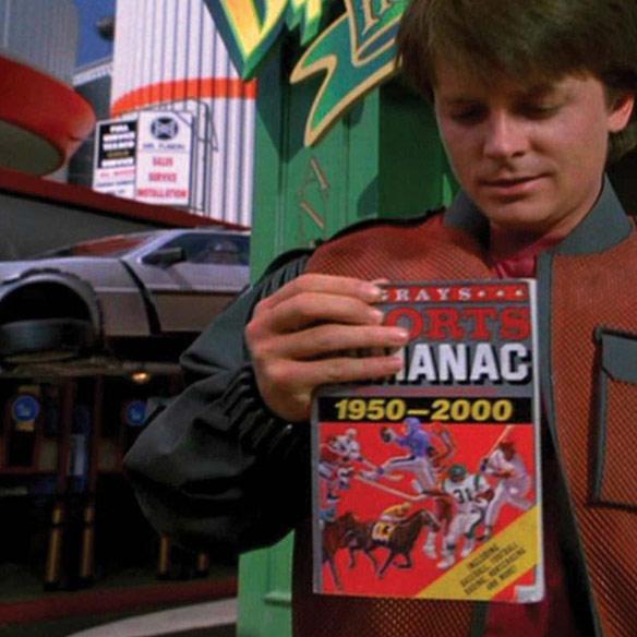 Back to the Future Sports Almanac iPad Case