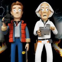 Back to the Future Vinyl Figures
