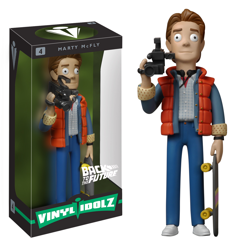 Back To The Future Vinyl Idolz Figures