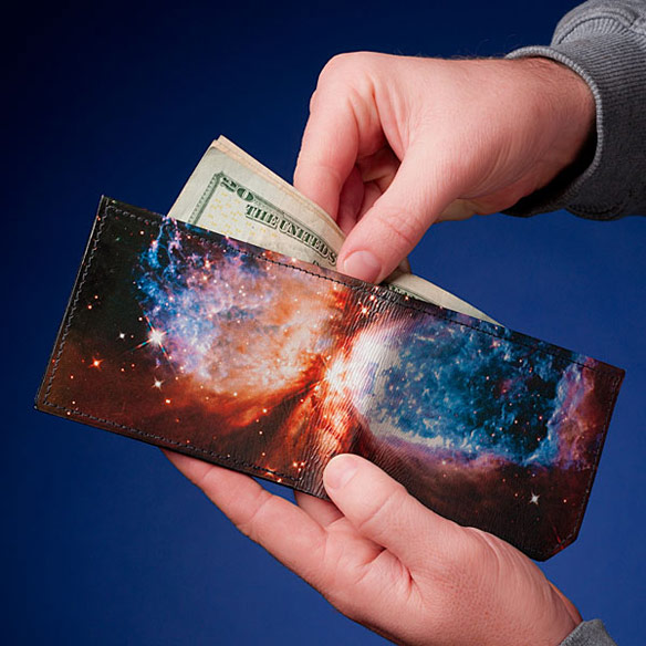 Backerton Galactic Leather Wallet