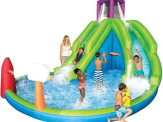 Backyard Water Slide Park Splash Pool