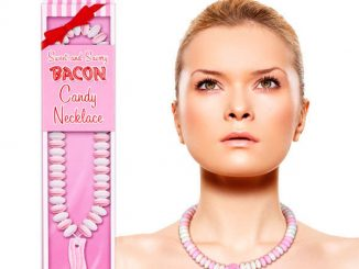 Bacon Candy Necklace