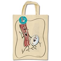 Bacon & Egg Shopping Bag