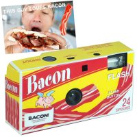 Bacon Magic Disposable Camera