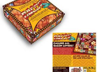 Bacon Road Trip Board Game
