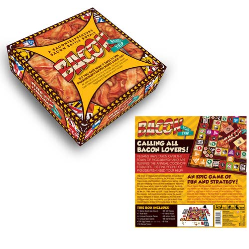 Bacon Road Trip Board Game