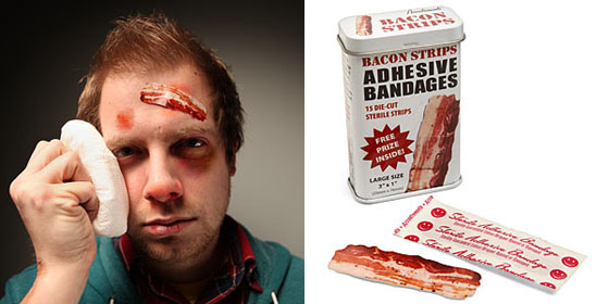 Bacon Strips Adhesive Bandages 2