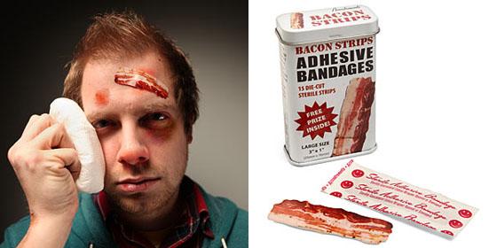 Bacon Strips Adhesive Bandages 2