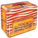 Bacon Tin Lunch Box