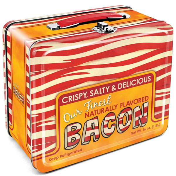 Bacon Tin Lunch Box