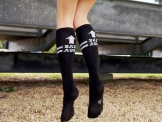Bad Ass Knee-High Socks