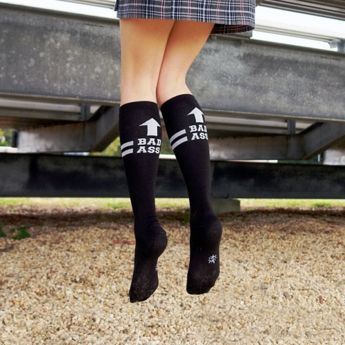 Bad Ass Knee-High Socks