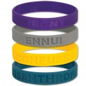 Bad Attitude Wristbands