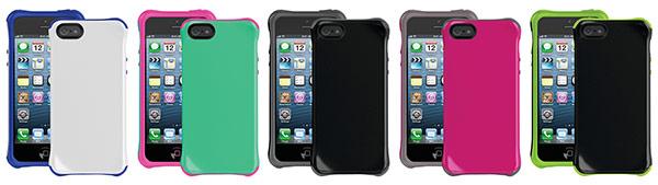 Ballistic Aspira iPhone 5 Case Colors