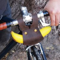 Banana Holder on handlebars