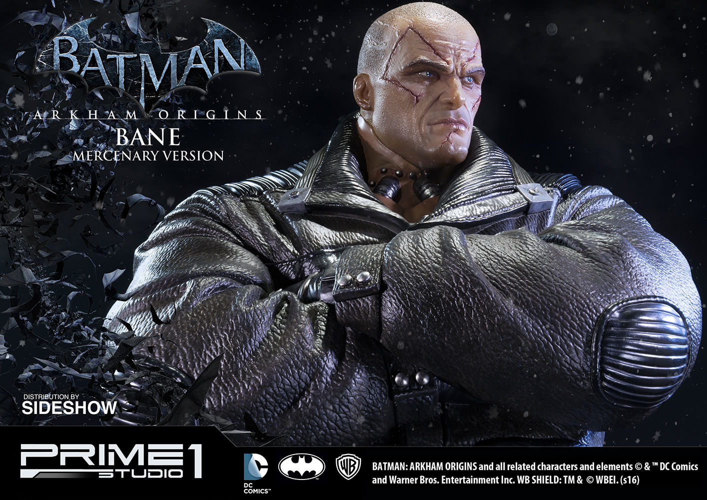 bane mercenary version statue