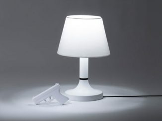 Bang Lamp with Remote Control