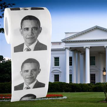 Barack Obama Toilet Paper