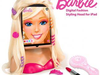 Barbie Digital Fashion Styling Head for iPad