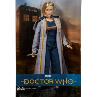 Barbie Doctor Who Thirteenth Doctor Collector Doll Box