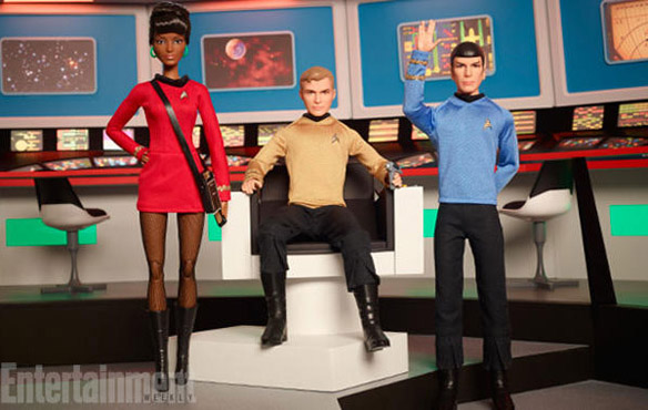 Barbie Star Trek 50th Anniversary Dolls
