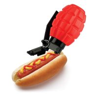 Barbuzzo Combat Condiments Grenade Ketchup Dispenser